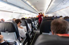 Bordservice im Rahmen eines individuellen Charterfluges