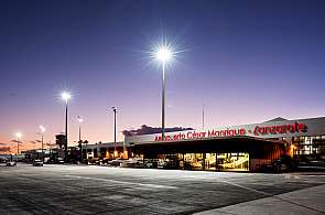 Terminal des Flughafens von Lanzarote